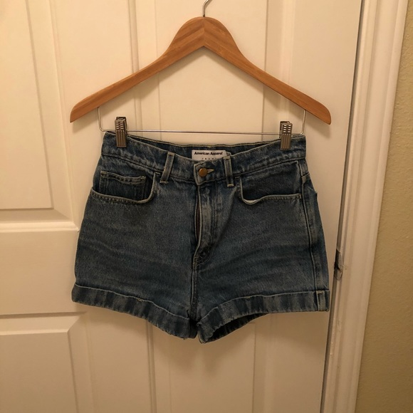 American Apparel Pants - Size 28 Jean Shorts from American Apparel